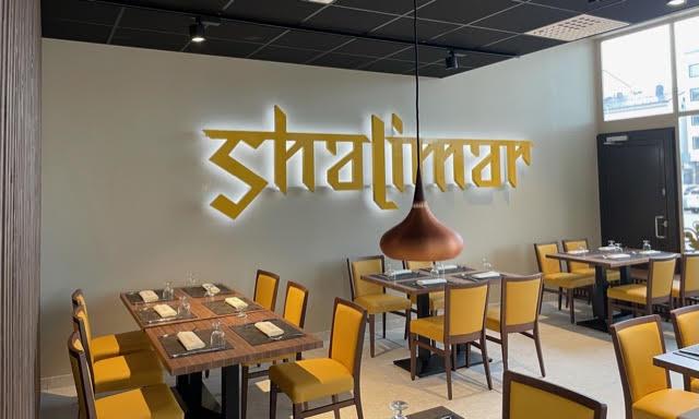 Shalimar ravintola logolla
